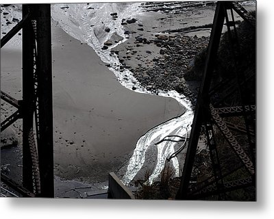 Girder Metal Print by Randal Bruck