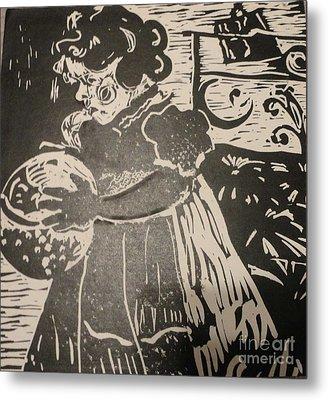 Girl's Play Metal Print