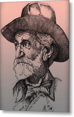 Giuseppe Verdi Metal Print by Derrick Higgins