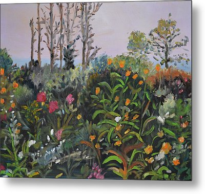 Giverny 2 Metal Print by Julie Todd-Cundiff