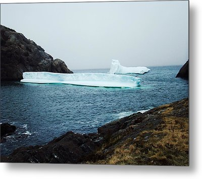Glacial Beauty Metal Print by Zinvolle Art