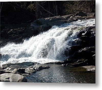 Glacial Potholes Falls Metal Print by Catherine Gagne