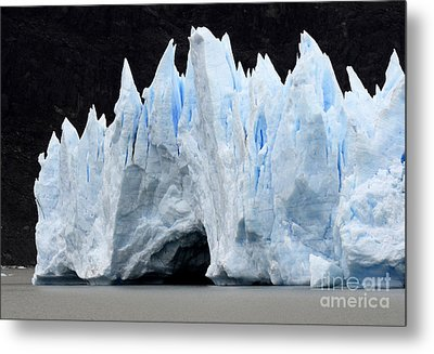 Glaciar Grey Patagonia Chile 3 Metal Print by Bob Christopher
