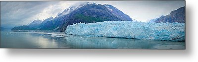 Metal Print featuring the photograph Glacier Bay Panoramic by Janis Knight