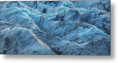 Glacier Blue Metal Print by Jon Glaser