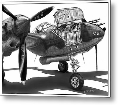 Glacier Girl Metal Print by Dale Jackson