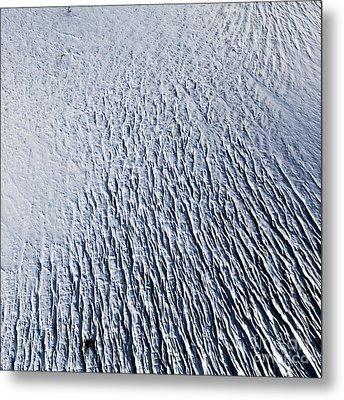 Metal Print featuring the photograph Glacier by Gunnar Orn Arnason