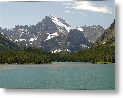 Glacier National Park Metal Print by Larry Moloney