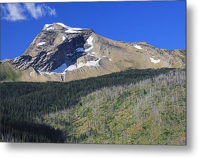 Metal Print featuring the photograph Glacier National Pk Mt by Kathleen Scanlan