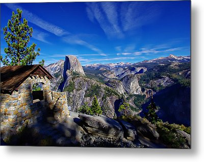 Glacier Point Yosemite National Park Metal Print