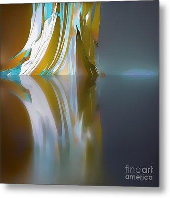 Glacier Metal Print by Ursula Freer