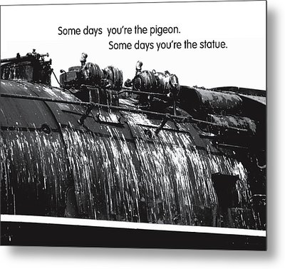 Glad Cows Don't Fly Metal Print by Mike Flynn
