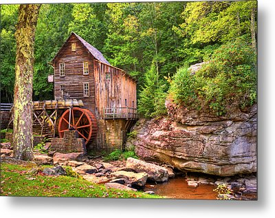 Glade Creek Mill  Metal Print by Gregory Ballos