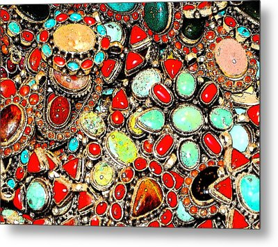 Metal Print featuring the photograph Glamorous Glitter by Ira Shander