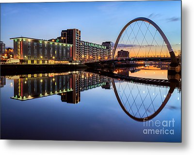 Glasgow Clyde Arc  Metal Print by John Farnan