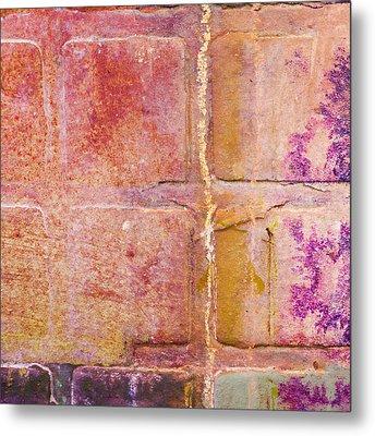 Glass Crossings 2 Metal Print by Carol Leigh