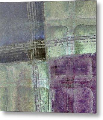 Glass Crossings Metal Print by Carol Leigh