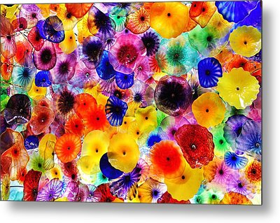 Glass Garden Metal Print