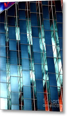 Glass House II Metal Print