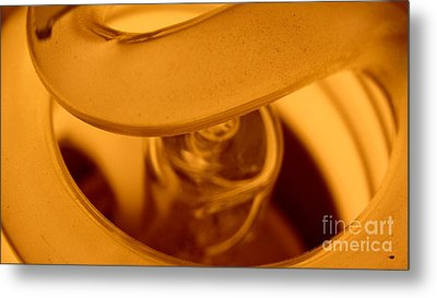Glass Light Metal Print