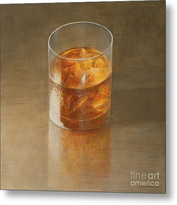 Glass Of Whisky 2010 Metal Print by Lincoln Seligman