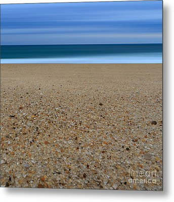 Glass Sand Metal Print by Katherine Gendreau