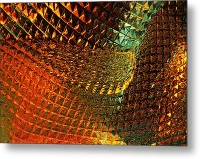 Invigorate - Glass Works 16 Metal Print