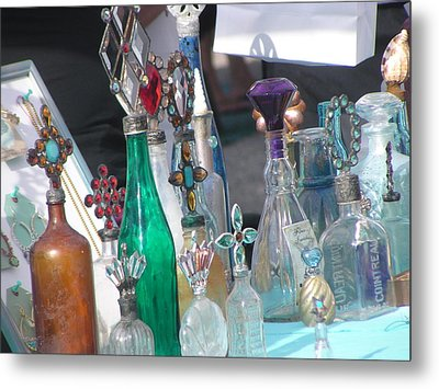 Glass Works Metal Print