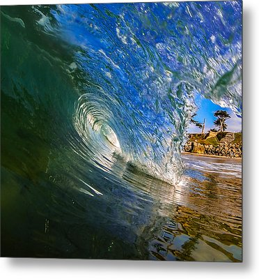 Glassy Perfection Metal Print by David Alexander