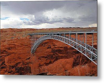 Glen Canyon Bridge Metal Print