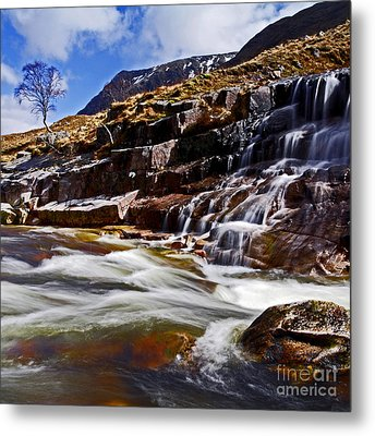 Metal Print featuring the photograph Glen Etive by Craig B