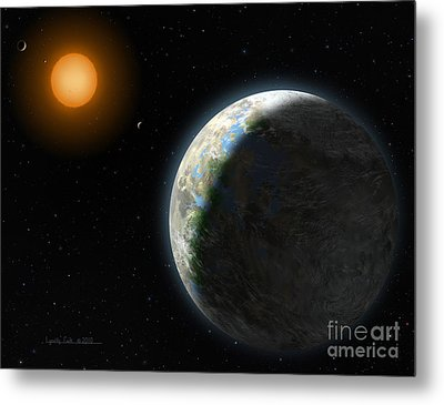 Gliese 581 G Metal Print by Lynette Cook