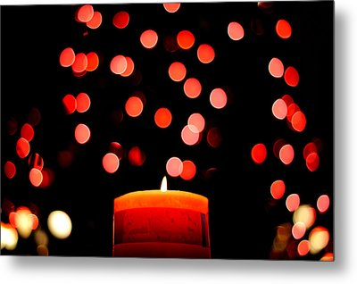 Glittering Lights Metal Print by Marwan Khoury