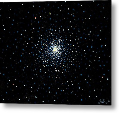 Globular Metal Print by Timothy Benz