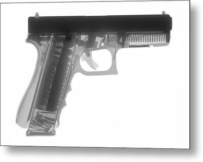 Glock G17 Metal Print