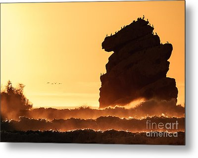 Glorious Afternoon At Morro Bay Metal Print