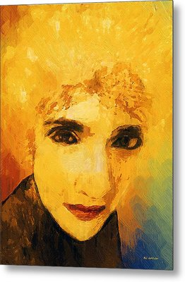 Glorious Crone Metal Print by RC deWinter