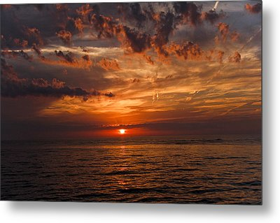 Glorious Masterpiece Metal Print by Marta Alfred