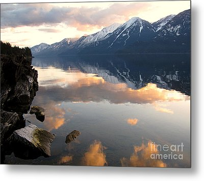 Glorious Sunset Metal Print by Leone Lund