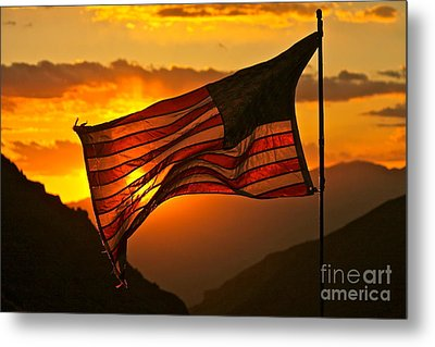 Glory At Sunset Metal Print by Michael Cinnamond