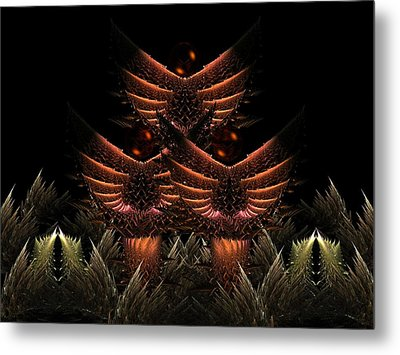Glory Seed Metal Print by Ricky Kendall