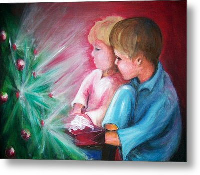 Glow Of Christmas Metal Print by Martha Suhocke