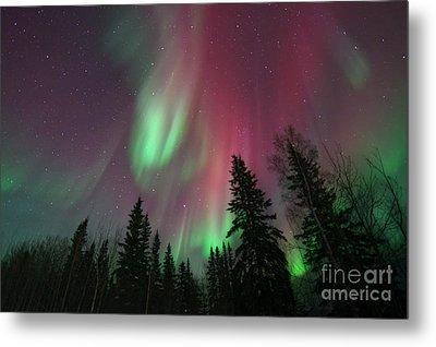 Glowing Skies Metal Print by Priska Wettstein