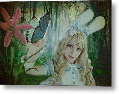 Go Ask Alice Metal Print by Christine Holding