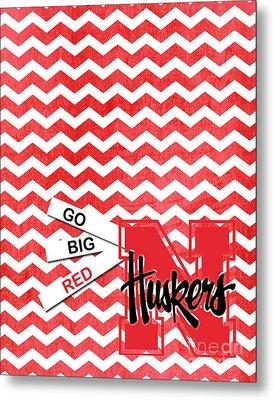 Go Big Red Metal Print
