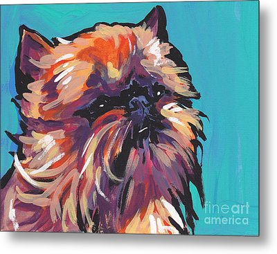Go Griff Metal Print by Lea S