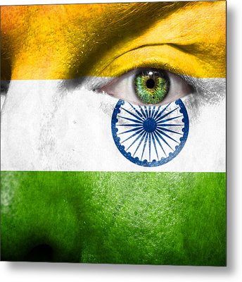 Go India Metal Print by Semmick Photo
