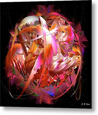 Go Inside And Play Metal Print by Michael Durst