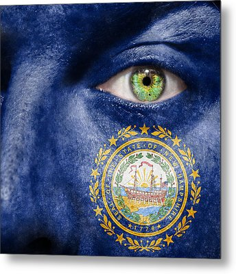 Go New Hampshire Metal Print by Semmick Photo