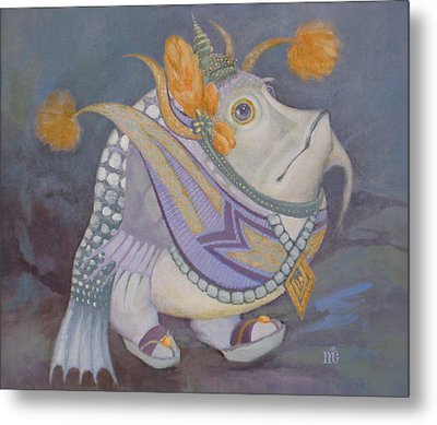 Metal Print featuring the painting Go Thai by Marina Gnetetsky